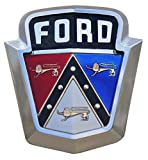 white ford emblem decal - Old 1950's Ford Emblem Decal 5