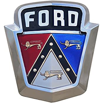 "Old 1950's Ford Emblem Decal 5"" Fast Free Shipping from the United States"