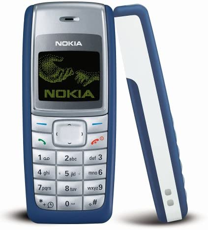 B000F9GNOS Nokia 1110i 4MB Classic (GSM only, No CDMA) Cell Phone (Blue) - International Version with No Warranty 51BB3962D9L.