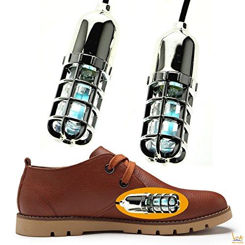 Shoes Ultraviolet Sanitizers Sterilizer, WK Home, Shoe Dryer Deodorizer Sanitize Kills Fungi & Odors