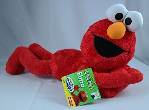 SESAME STREET Fisher Price LARGE Plush ELMO FIGURE is TOYS R US EXCLUSIVE w TAG -