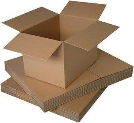 Packitsafe Cajas de cartón de canal simple, pequeñas, medianas y grandes, cajas de almacenamiento para mudanzas y envíos, varios tamaños, 8