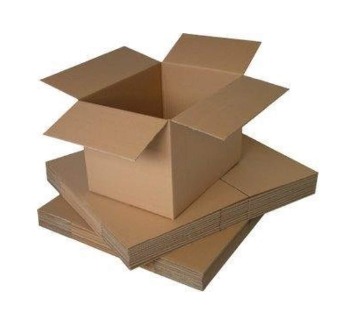 Cajas de cart/ón para mudanza Mediano y Grande 9 x 9 x 9 Packitsafe 229x229x229mm Varios tama/ños Disponibles tama/ño peque/ño