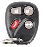 ACDelco 12223132 GM Original Equipment 4 Button Keyless Entry Remote Key Fob