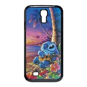 Samsung Galaxy S4 9500 Cell Phone Case Black Lilo with Stitch SLI_496104