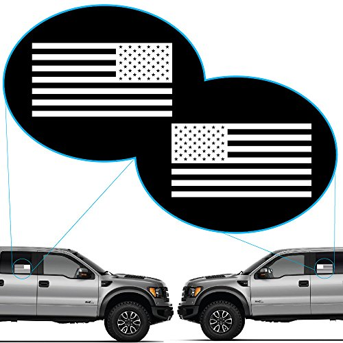 Yoonek Graphics American Flag United States Decal Sticker for Car Window, Laptop, Motorcycle, Walls, Mirror and More. # 816 (3