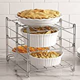 Real Simple 3-Tier Adjustable Oven Rack (6)
