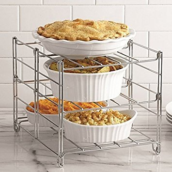 Real Simple 3-Tier Adjustable Oven Rack (4) by Real Simple