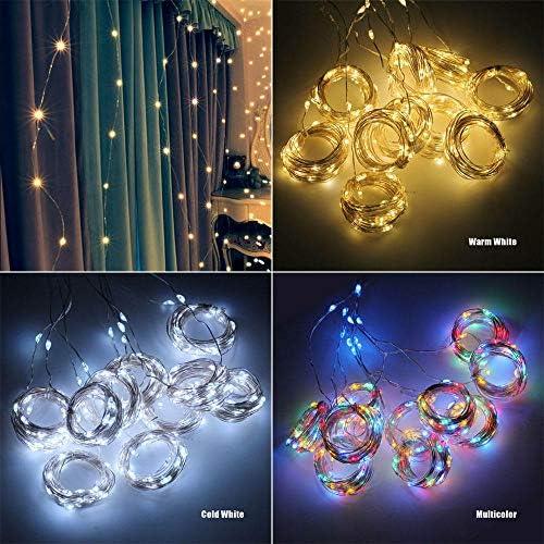 Vorhang Lichterketten 3m LED LichterkettenVerwendet für Mädchen/Jungen Schlafzimmer, Wand, Hochzeit Geburtstagsfeier, Weihnachten, Zeltdekoration-RGB_3 mx 3 m
