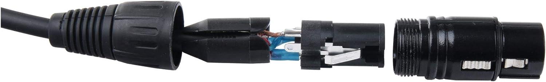 Pronomic Stage XFJ-10 Microphone Cable XLR//Jack 10 m Black