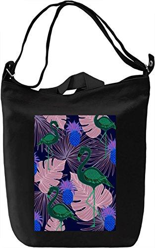 Colourful Tropics Borsa Giornaliera Canvas Canvas Day Bag| 100% Premium Cotton Canvas| DTG Printing|