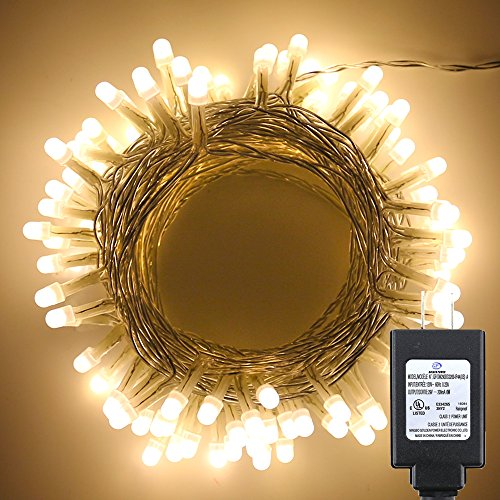 10M 100 Led String Fairy Lights In Warm White - 8