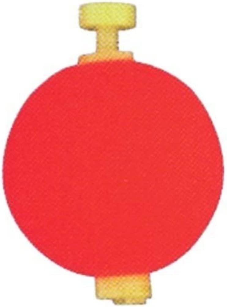 """12 1.50/"""" FISHING BOBBERS Round Weighted Floats Assorted Foam SNAP ON FLOAT"""