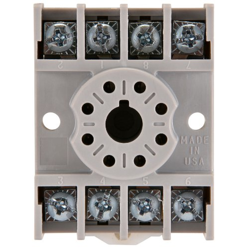 NTE Electronics R95-113 8 Pin Octal Socket with