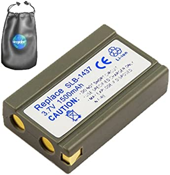 Amazon Com Digital Replacement Camera And Camcorder Battery For Samsung Slb 1437 Digimax V3 Includes Lens Pouch Digital Camera Batteries Camera Photo
