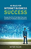 Free eBook - 40 Rules for Internet Business Success