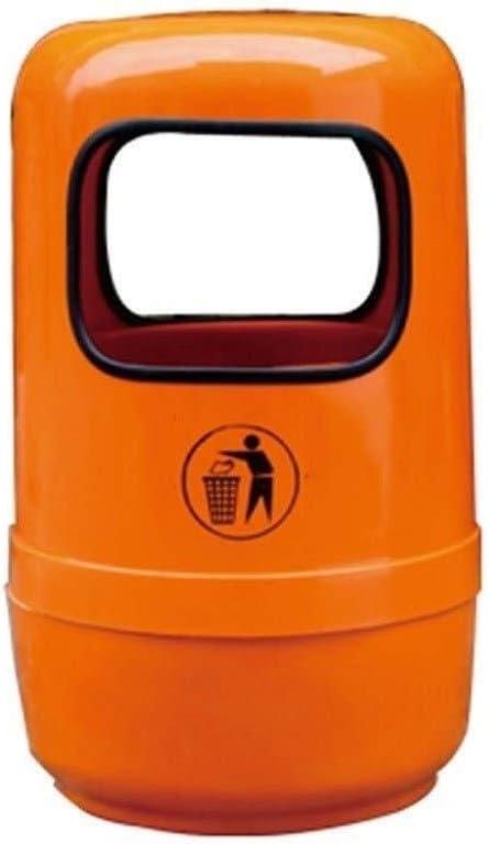ゴミ箱・ゴミ入れ 屋内/屋外のごみ箱工場ごみ箱ストリートできる用紙屋外のゴミ箱を無駄にすることができますゴミ箱衛生ゴミ箱 (Color : D)