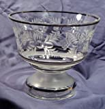 Bohemia Glass Co. Crystal Compote
