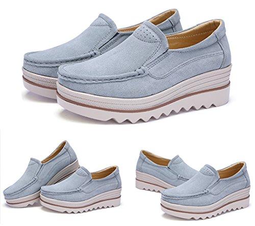 (ダダウン)DADAWEN  ウォーキングシューズ レディース 厚底靴 スニーカー カジュアルシューズ 美脚 軽量 履き心地抜群 通学 通勤靴