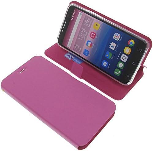 foto-kontor Funda para Alcatel Pixi 4 6.0 3G Estilo Libro Rosa ...