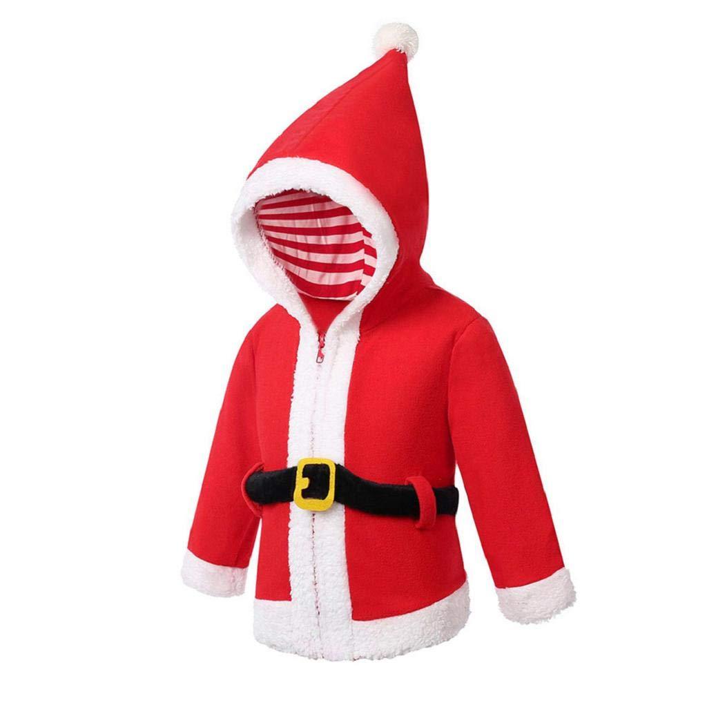 Bambini Giacca Invernale, ABCone Bambino Ragazza Neonati Maschi Natale Xmas Con Cappuccio Top Coat Pullover Outfits Autunno Inverno Abbigliamento Cappotto Caldo Susenstone