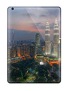 NAMNRjs1891PgfWE Anti-scratch Case Cover PhillipASandoval Protective Kuala Lumpur City From Sky Scenery Case For Ipad Air