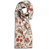 Doppyee Love Paris Super Soft Classic Cashmere Pashmina Feel Winter Scarf For Men And Women