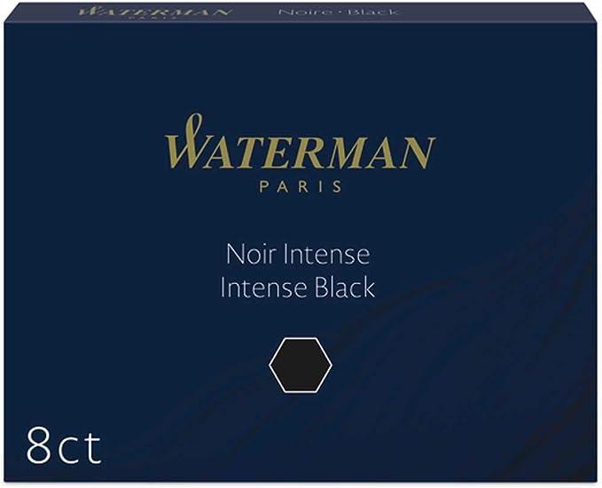 Waterman Tintenpatronen Permanente Tinte Standardgröße Schwarz 8 Stück Baumarkt