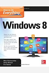 How to Do Everything: Windows 8 Paperback
