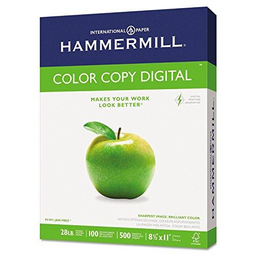 Copy Paper, 100 Brightness, 28lb, 8 1/2 x 11, Photo White, 500/Ream, Sold as 1 Ream, 500 per Ream ()