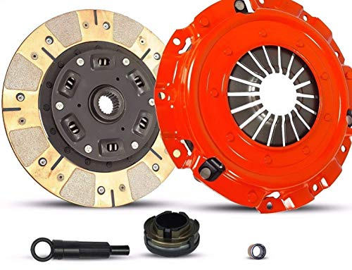 (Clutch Kit works with Mazda 3 5 GS-SKY GT GX i Gs S Sport Touring 2004-2013 2.0L 2.3L 2.5L l4 GAS DOHC Naturally Aspirated (Dual Facing Disc Stage 2) )