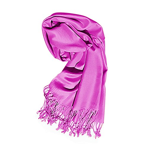 Best Customized Wide Purple Pashmina Shawl Scarf Scarves for Women