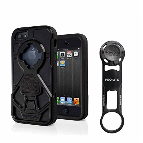 Rokform [iPhone 5/5s/SE] Pro-LITE Aluminum Bike Mount/Holder & Protective Phone Case, Twist Lock & Magnetic Security by Rokform