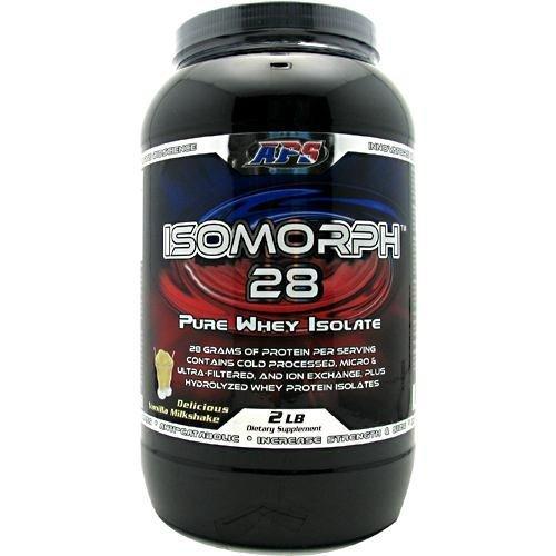 APS Nutrition IsoMorph 28 - Delicious Vanilla Milkshake - 2 lbs (Aps Whey)