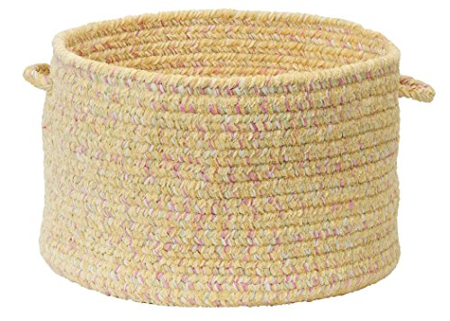 Colonial Mills West Bay Utility Basket, 18 by 12-Inch, Banana Tweed from Colonial Mills