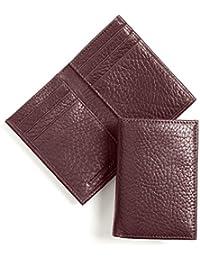 Leatherology Mens Vertical Bifold Wallet Explained