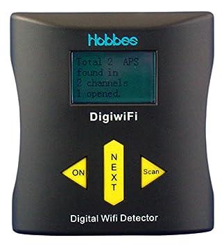 Hobbes Digital WiFi Detector con Beeper Tool Accessories para PC: Amazon.es: Informática