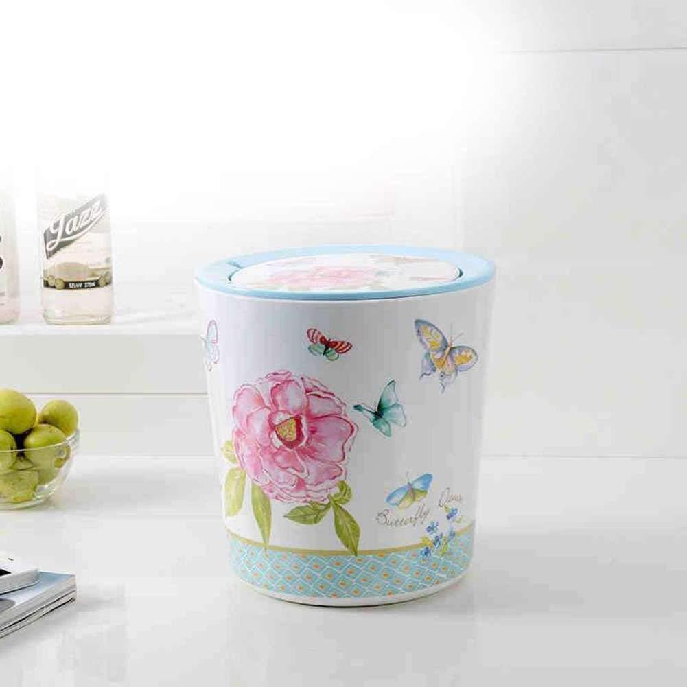 Trash can Cuisine/Chambre à Coucher/Bureau Poubelle, Poubelle, Poubelle Ronde Mini Poubelle de Table à déchets AA