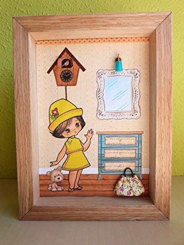 Casita de muñeca recortable: Amazon.es: Handmade