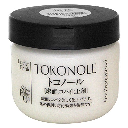 Seiwa Tokonole Leather Finish Burnishing Gum Clear Leathercraft (120g)
