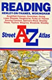 Front cover for the book A-Z Reading Street Atlas by Geographers' A-Z Map Company