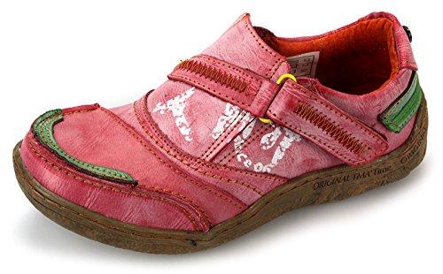 TMA Damen Freizeit Schuhe Comfort Halbschuhe 1364 Rot