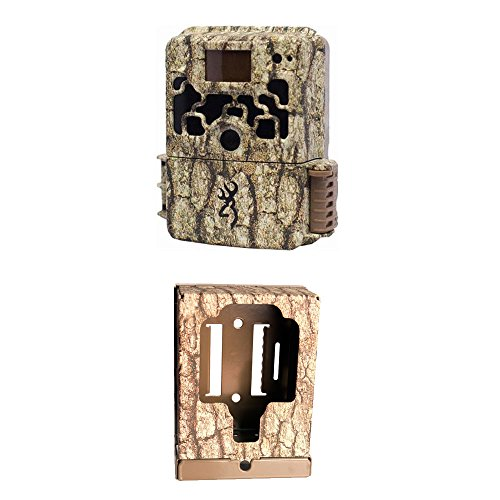 Browning DARK OPS HD Sub Micro Trail Camera with Browning Trail Camera Security Box