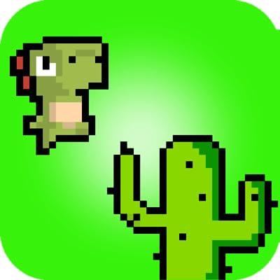 Pixel Dino Run for Fire Tv