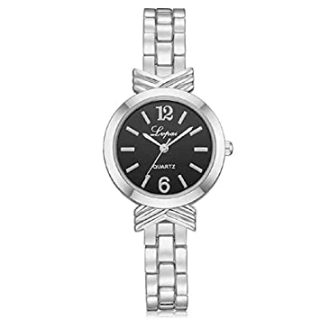 Windoson Womens Quartz Watch Ladies Casual Bracelet Stainless Steel Wrist Watches ...