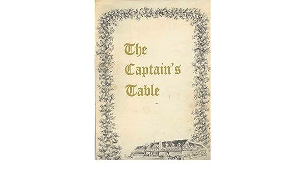 Amazon Com The Captain S Table Champagne Dinner Menu 6 95