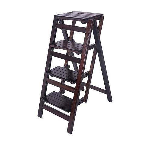 Amazon.com: Escalera plegable de 4 hilos, escalera para el ...