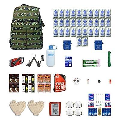 Urban Survival Kit Four For Earthquakes, Hurricanes, Floods, Tornados, Emergency Preparedness