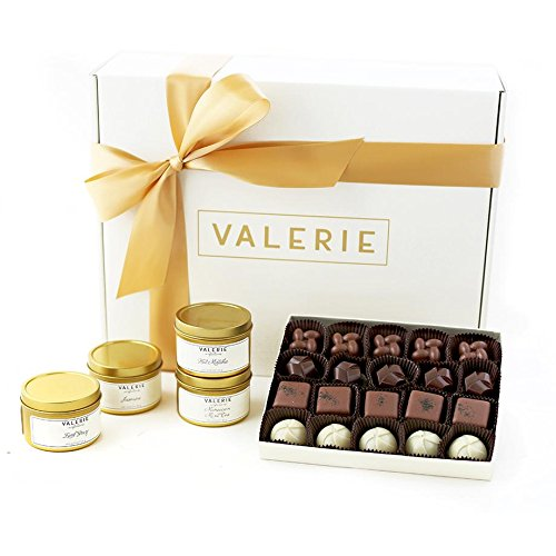 Valerie Chocolates TEA & CHOCOLATE GIFT SET by Valerie Chocolates