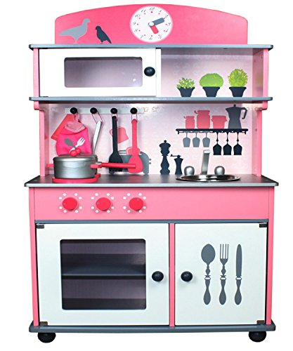 Berry Toys My Very Own Pink Wooden Play Kitchen